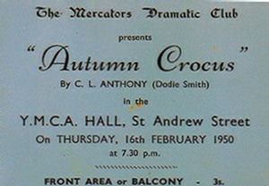 "Ticket for ""Autumn Crocus"""