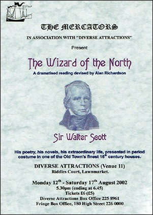 "Flyer for ""The Wizard of the North"""