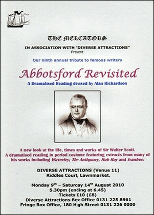 "Flyer for ""Abbotsford Revisited"""