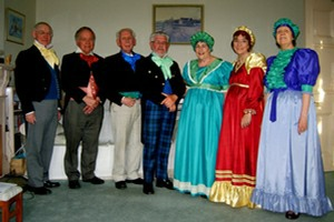 "Costume call for ""Abbotsford Revisited"" in 2010"