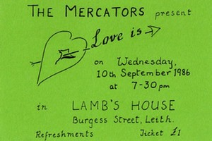 """Love Is..."" Ticket for performance at Lamb's House"