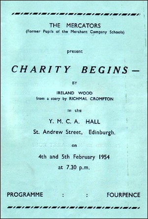 "Programme for ""Charity Begins"""
