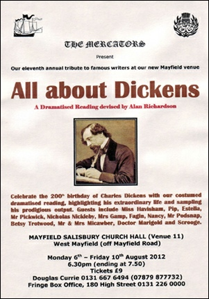All about Dickens - Flyer
