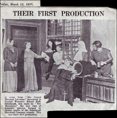 "Newspaper article about ""She Passed Through Lorraine"""