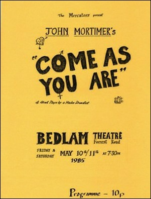 "Programme for ""Come As You Are"""