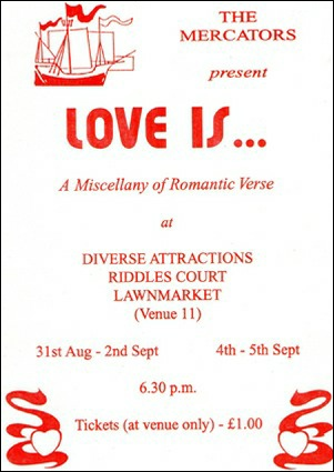 "Flyerl for ""Love Is..."""