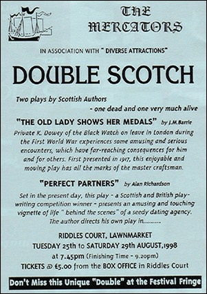 "Handbill for ""Double Scotch"""