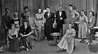 "Full cast of ""Blithe Spirit"""