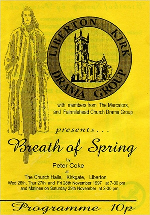 "Programme cover for ""Breath of Spring"""